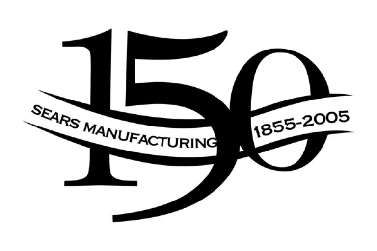 Sears History Photo. Picture of Sears 150 year logo.