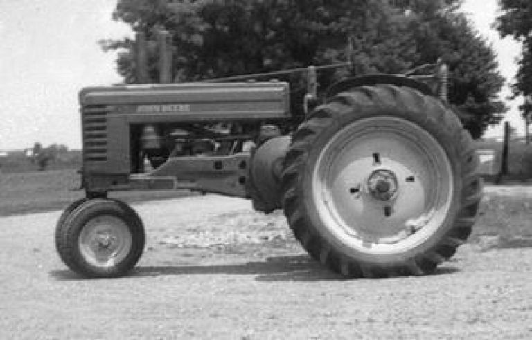 Sears History Photo. Picture of 1950 John Deere Tractor