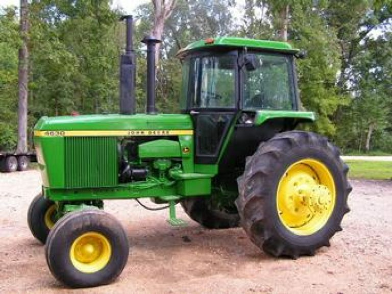 Sears History Photo. Picture of 1970's John Deere Tractor
